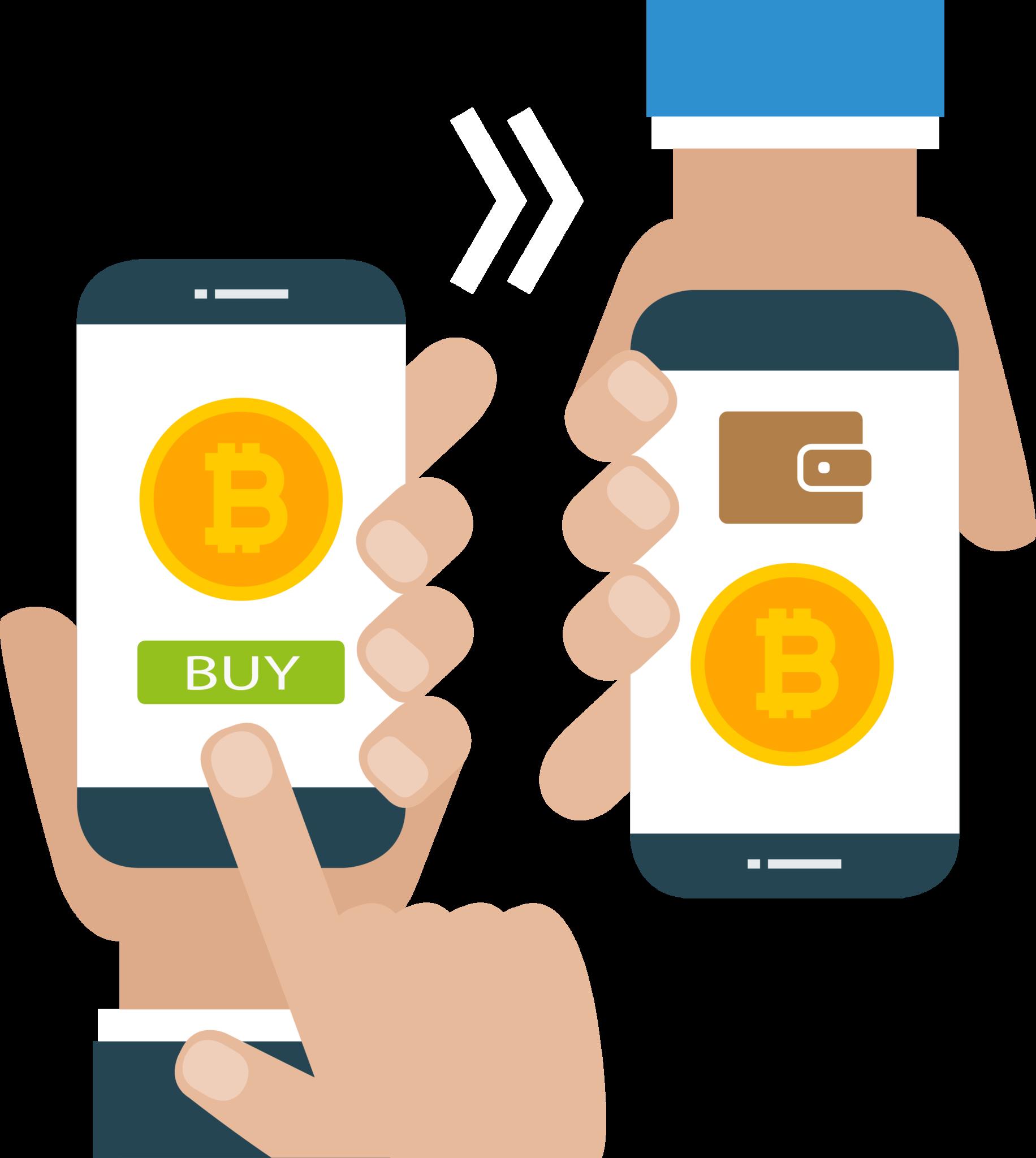 Buy bitcoin on phone